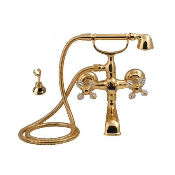 Altın Serisi Altın Banyo Armatür ( TAŞLI )