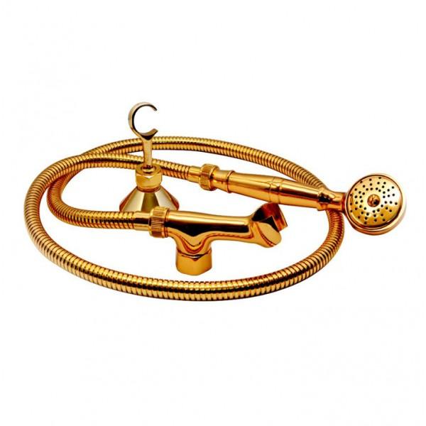 Altın Spiral Duş Takımı