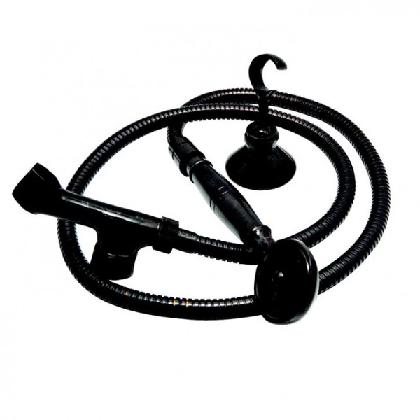 Siyah Spiral Duş Takımı
